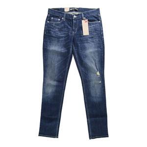 Levi's 524 Too Superlow Skinny Low Rise Dark Jeans